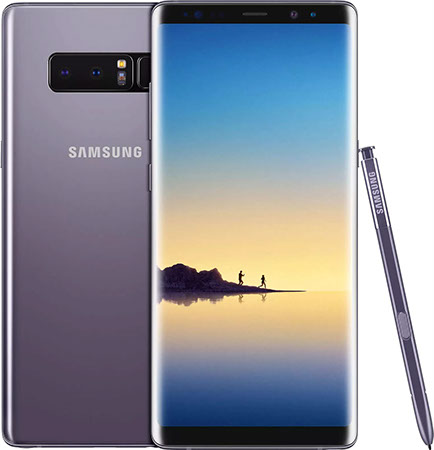 Samsung Galaxy Note 8 сиреневый